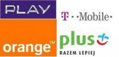 Play, Plus, Orange, T-Mobile