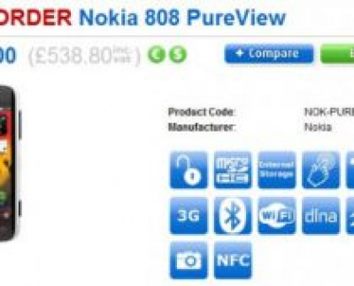 Nokia 808 Pure View